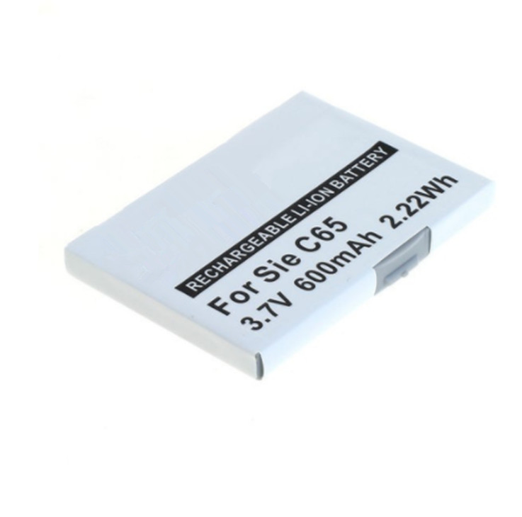 3.7V,600mAh replacement mobile phone Li-ion battery for Siemens CX65,M65,S65