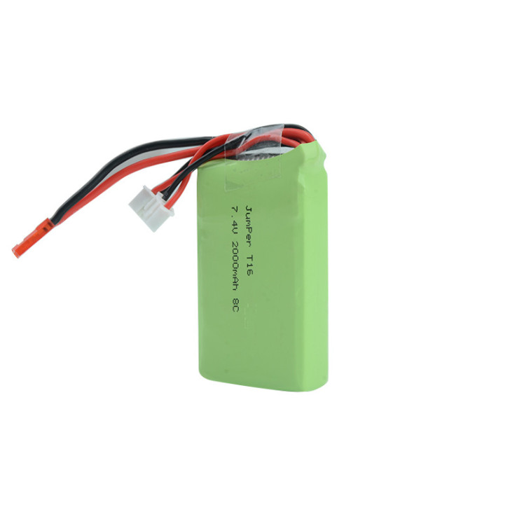 Jumper T16 T18 remote control battery 2S 7.4v 2000mAh lithium battery