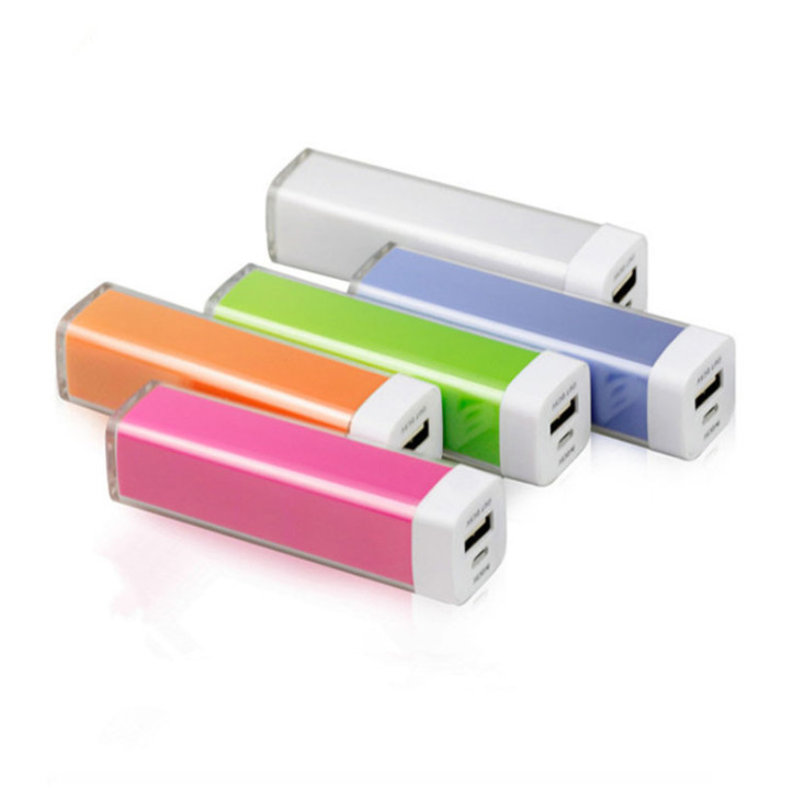 2600mAh portable rechargeable power bank, gift portable battery