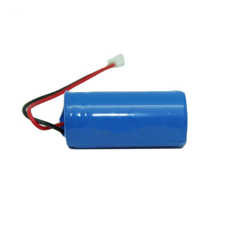 ICR16340 lithium battery pack ,600mAh smart beauty instrument battery