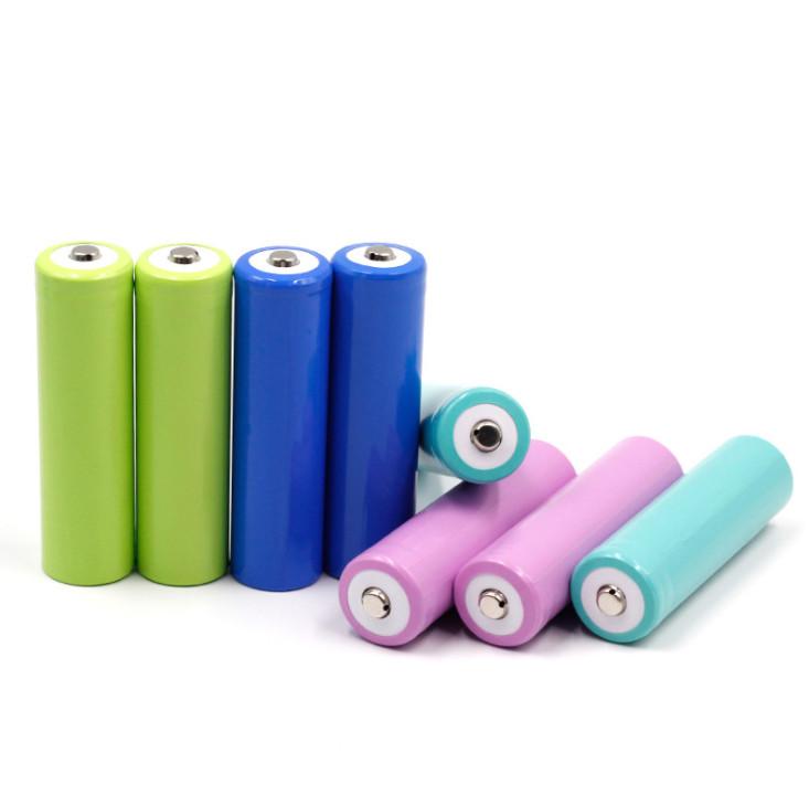 18650 3.7V Batterie de ventilateur de lampe de poche rechargeable,Batterie au lithium cylindrique de grande capacité 3C / 5C / 10C