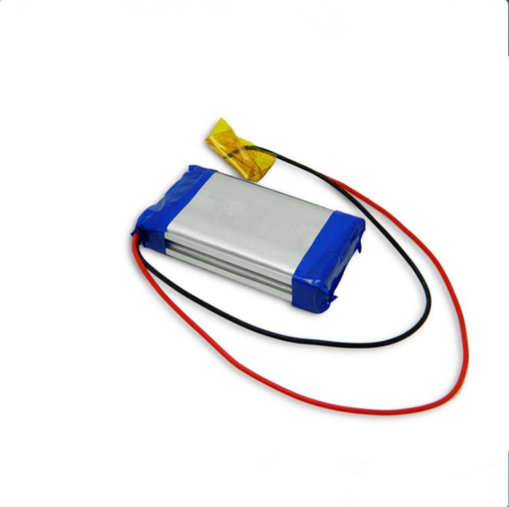653460 bateria de lítio para equipamento médico ,3200 Bateria mAh Li-Polymer para máquina varredora de chão inteligente