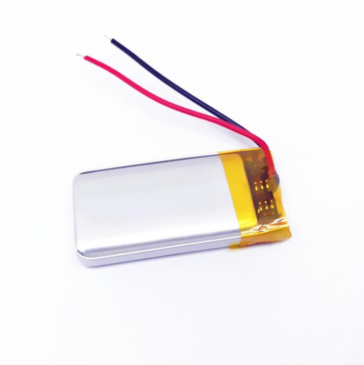 Bateria de polímero de lítio para iluminação de natal 501646, 3.7 v bateria eletrônica de brinquedo de Natal 360mAh