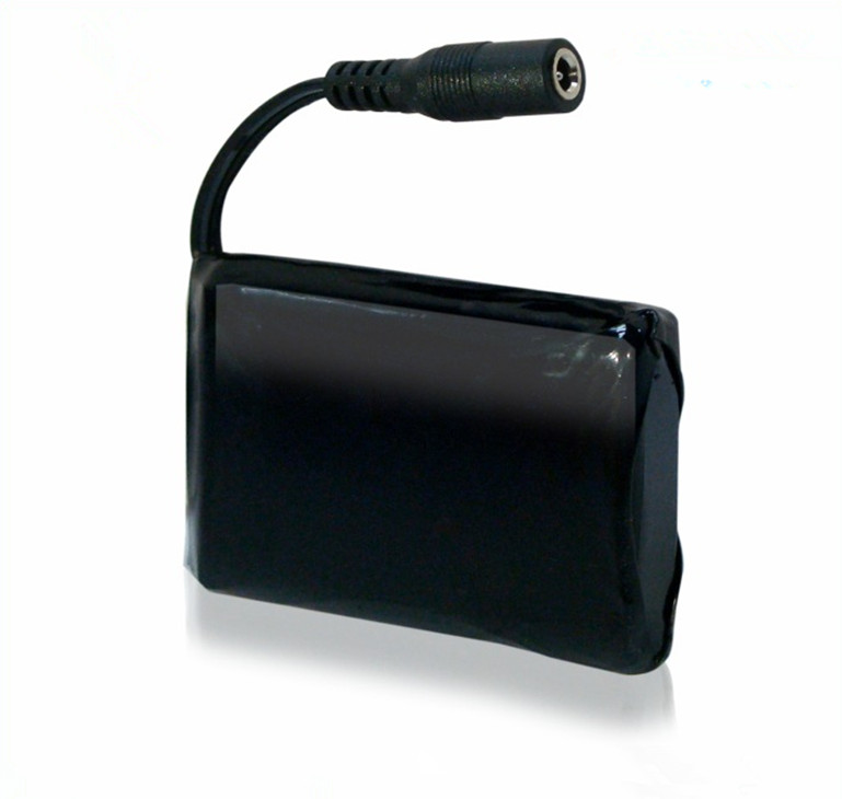 Bateria de polímero de lítio para roupa de aquecimento personalizada ,3.7 v pacote de bateria de luvas de aquecimento recarregáveis 4400mah