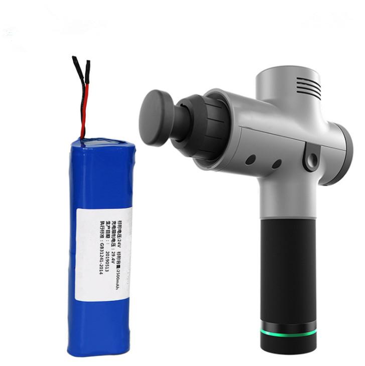 Batería de pistola de masaje muscular personalizada,24V 2500mAh 5C Paquete de baterías para Fascia Gun