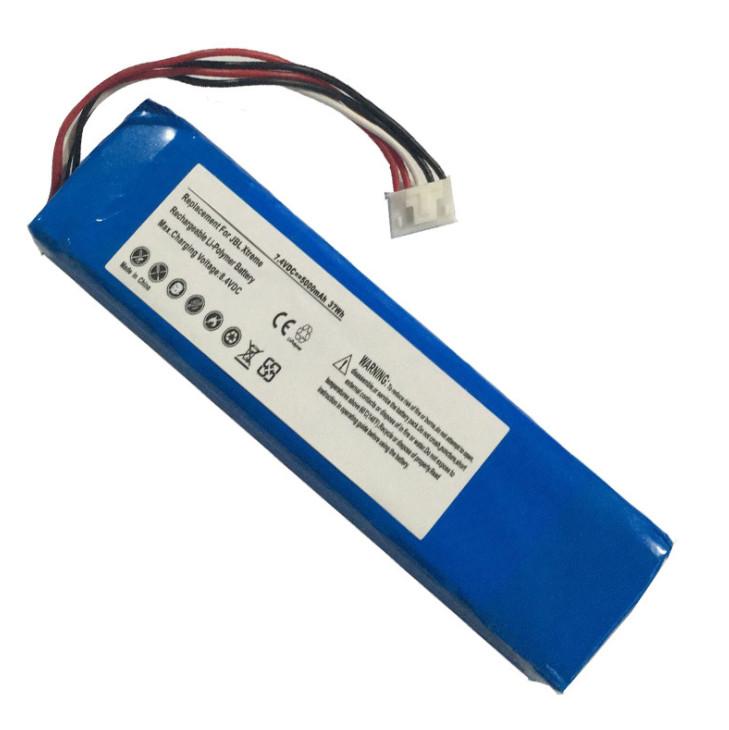 Bateria de reposição de polímero de lítio de alta capacidade 5000mAh para JBL Xtreme, JBLXTREME, se encaixa JBL GSP0931134