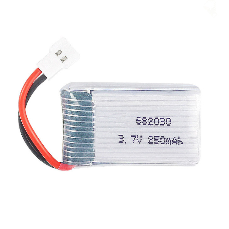 3.7V 250mAh Li-Polymer battery, high-rate UAV battery 682030