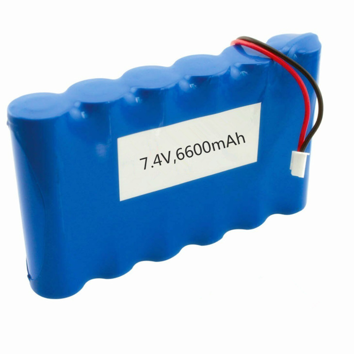 Custom 7.4V 6600mAh Rechargeable Battery Pack Fishing Lights Dedicated Standby Power