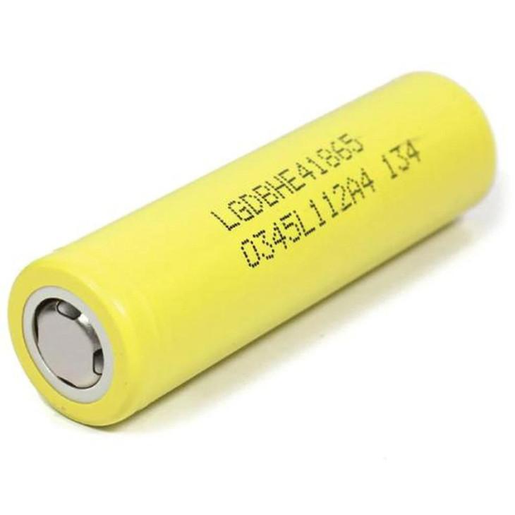 LG HE4 18650 20Une batterie au lithium rechargeable LGDBHE41865 de 2500mAh 3.7V