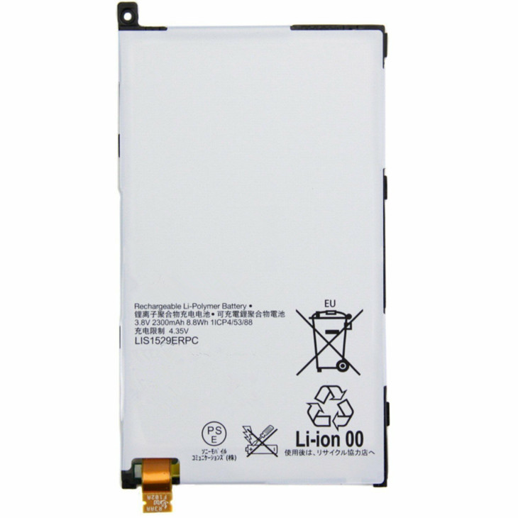 Li-Polymer New Replacement Battery LIS1529ERPC Compatible with Sony Ericsson Xperia Z1 Mini Xperia Z1s