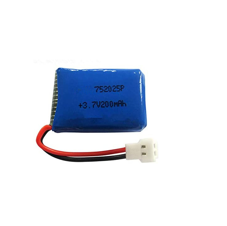 Parts & Accessories X4 2.4G RC Helicopter/Quadcopter 3.7V 200mah Li-Polymer Battery