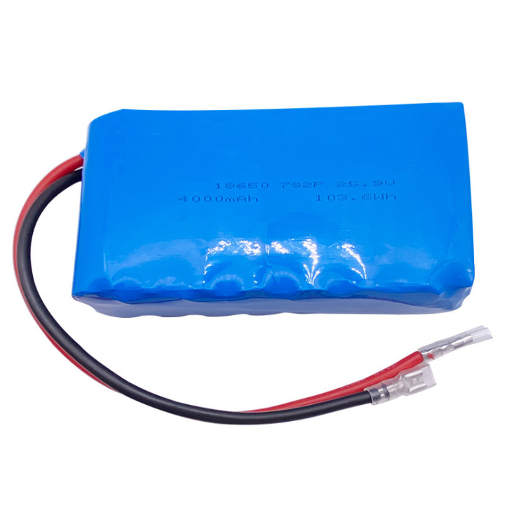 18650 lithium battery for oxygen generator instruments ,25.9V,4000mAh intelligent robot battery pack