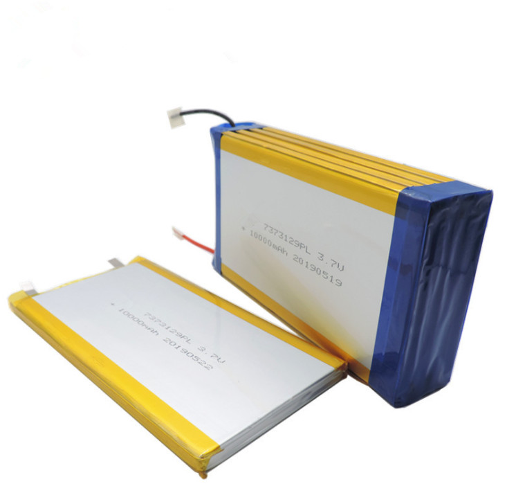 3.7V Large-capacity polymer lithium battery 7373129 40000mAh medical devices lithium batteries