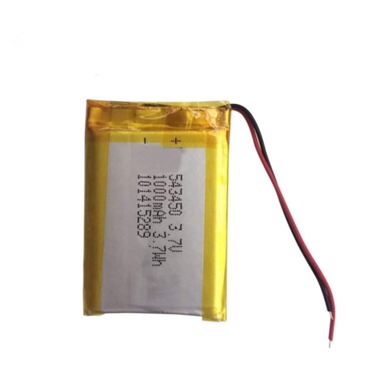 3.7V 1000 Batteria ricaricabile ai polimeri di litio mAh Batteria agli ioni di litio 503450 543450 523450 per Smart Phone DVD MP3 MP4 Led Lamp