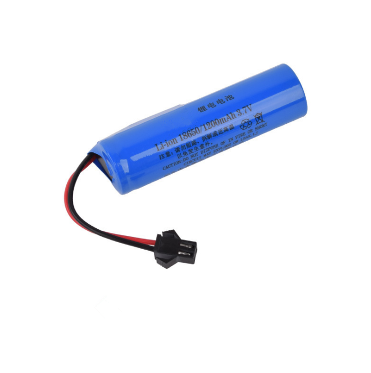 14500 Lithium battery 3.7v remote control vehicle 1200mAh fan toy car cylindrical rechargeable lithium battery