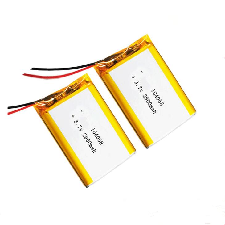 104058 Medidor de beleza, equipamento médico, bateria de íon de lítio de polímero ,3.7 v 2900mAh led lâmpada bateria de lítio