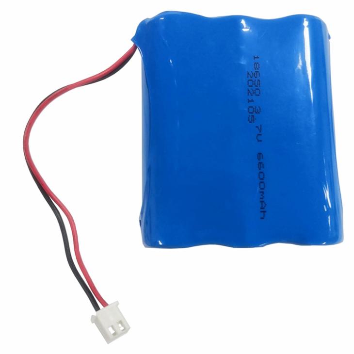 Pacote de bateria de íon de lítio recarregável – 3.7V 6600mAh, 3.9 polegada (10cm) Cabo, Conector JST PH